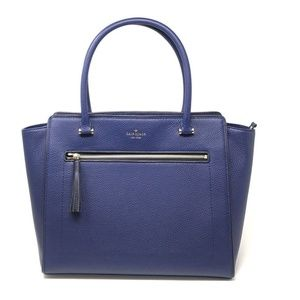 Kate Spade Large Allyn Chester Street Navy Tote